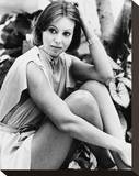Jenny Agutter - Logan's Run Stretched Canvas Print