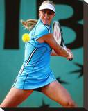 Elena Dementieva Stretched Canvas Print