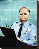 Robert Prosky - Hill Street Blues Stretched Canvas Print