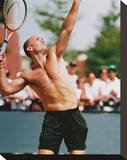 Andre Agassi Stretched Canvas Print