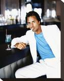 Don Johnson - Miami Vice Stretched Canvas Print