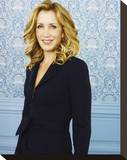 Felicity Huffman Stretched Canvas Print