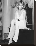 Felicity Kendal Stretched Canvas Print