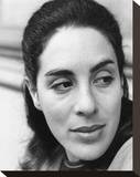 Eleanor Bron Stretched Canvas Print