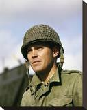 Jeffrey Hunter - The Longest Day Stretched Canvas Print