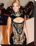 Beyonc' Knowles Stretched Canvas Print