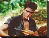 Charlie Sheen - Platoon Stretched Canvas Print