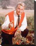 Eddie Albert - Green Acres Stretched Canvas Print