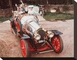 Chitty Chitty Bang Bang Stretched Canvas Print