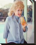Donna Douglas - The Beverly Hillbillies Stretched Canvas Print