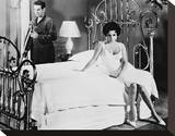 Elizabeth Taylor & Paul Newman Stretched Canvas Print