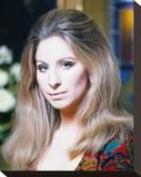 Barbra Streisand Stretched Canvas Print