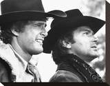 Alias Smith and Jones Stretched Canvas Print