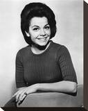 Annette Funicello - Beach Blanket Bingo Stretched Canvas Print