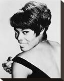 Dionne Warwick Stretched Canvas Print