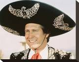 Chevy Chase - ¡Three Amigos! Stretched Canvas Print