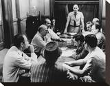 12 Angry Men Stretched Canvas Print