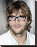 Ashton Kutcher Stretched Canvas Print