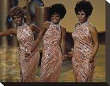 The Supremes Stretched Canvas Print