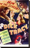 Dick Tracy Stretched Canvas Print