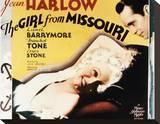 The Girl from Missouri Reproducción en lienzo de la lámina