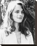 Charlotte Rampling Stretched Canvas Print