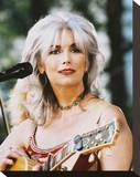 Emmylou Harris Stretched Canvas Print
