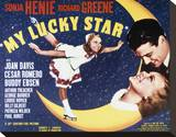 My Lucky Star Stretched Canvas Print