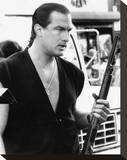 Steven Seagal - Above the Law Stretched Canvas Print