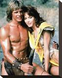 The Beastmaster Stretched Canvas Print