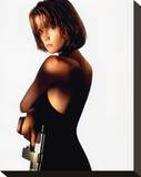 Bridget Fonda Stretched Canvas Print