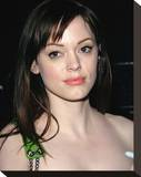 Rose McGowan Stretched Canvas Print