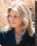 Lindsay Wagner - The Bionic Woman Stretched Canvas Print