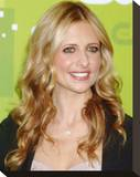 Sarah Michelle Gellar Stretched Canvas Print