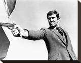 George Lazenby Stretched Canvas Print