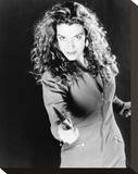 Claudia Christian - Hexed Stretched Canvas Print