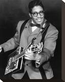 Bo Diddley Stretched Canvas Print