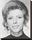 Billie Whitelaw Stretched Canvas Print