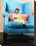 Lily Tomlin - The Incredible Shrinking Woman Stretched Canvas Print