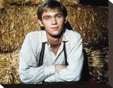 Richard Thomas - The Waltons Stretched Canvas Print