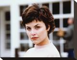 Sherilyn Fenn - Twin Peaks Stretched Canvas Print