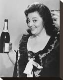 Hattie Jacques Stretched Canvas Print