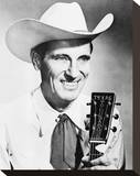 Ernest Tubb Stretched Canvas Print