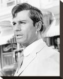 George Maharis Stretched Canvas Print