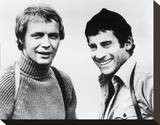 Starsky and Hutch Stretched Canvas Print