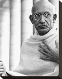 Ben Kingsley - Gandhi Stretched Canvas Print