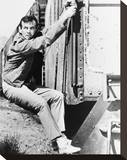 David Janssen - The Fugitive Stretched Canvas Print