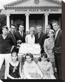 Peyton Place Stretched Canvas Print