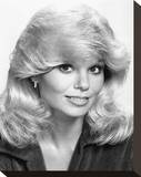 Loni Anderson - WKRP in Cincinnati Stretched Canvas Print