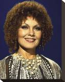 Cleo Laine Stretched Canvas Print